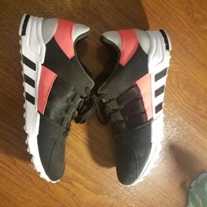 Adidas Men EQT Support RF black core black turbo r